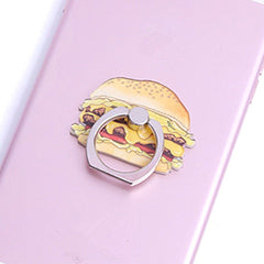 Creative Case Holder Anillo Hamburguesa
