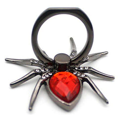 Creative Case Holder Anillo Metálico Spider