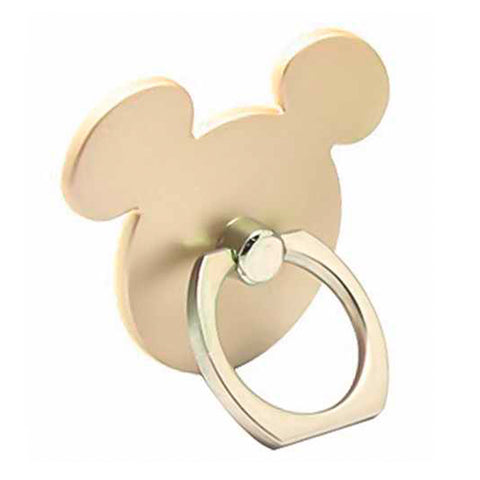 Creative Case Holder Anillo Mickey, Dorado