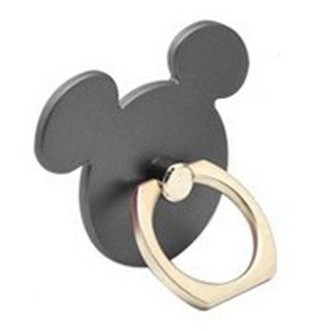 Creative Case Holder Anillo Mickey, Negro