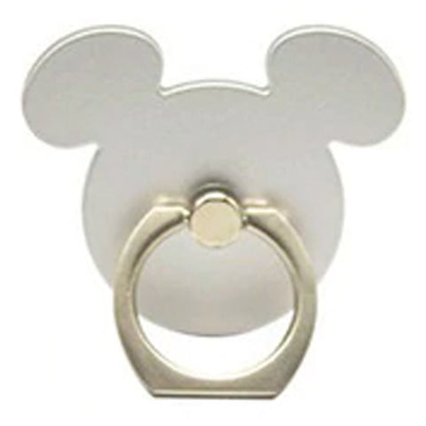 Creative Case Holder Anillo Mickey, Plata