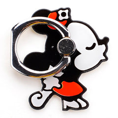 Creative Case Holder Anillo Figura Minnie