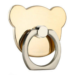 Creative Case Holder Anillo Oso, Dorado