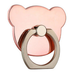 Creative Case Holder Anillo Oso, Rosa