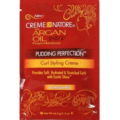 Creme Of Nature Crema para Rizos Pudding Perfection Paquete