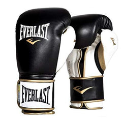 Everlast Guante de Boxeo Power Lock Hook / Loop, BK/WT