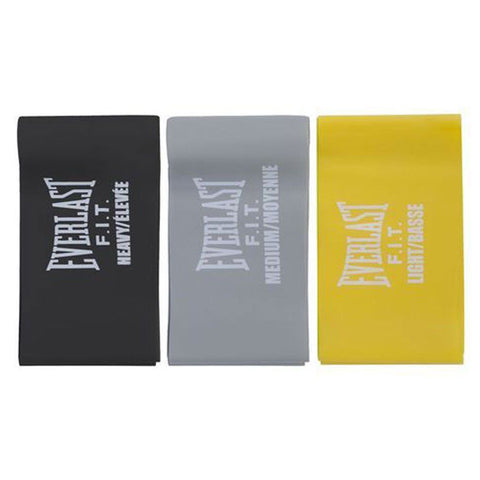 Everlast Set de 3 Bandas de Resistencia Loop Bands