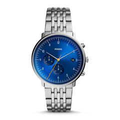 Fossil Reloj para Hombre Chase Timer Stainless Steel, FS5542