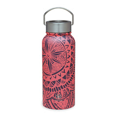 Gaiam Botella para Agua de Boca Ancha Medallion, 32 Oz