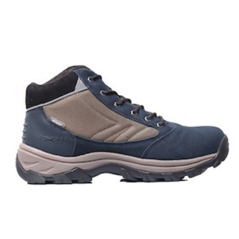 Hi-Tec Zapatos Hiking Impermeables Gannet Peak 4.2k I+ Night/Taupe/Burnt Orange, para Hombre