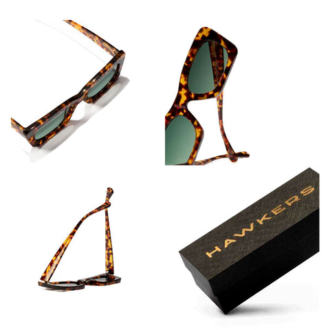 Hawkers Lentes Casuales para Mujer, Lauper Carey Green Bottle