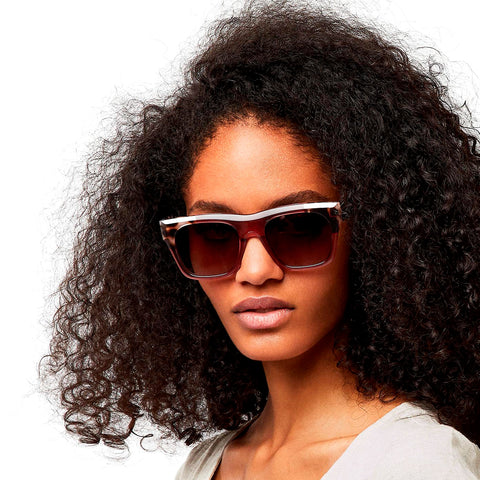Hawkers Lentes Casuales para Mujer, Narciso Leo Brown