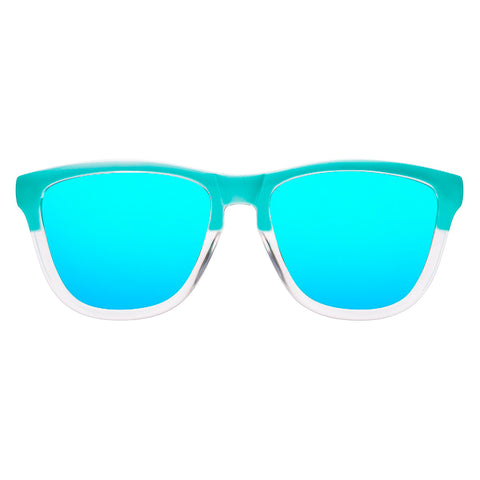 Hawkers Lentes Casuales Unisex, One Bicolor Tiffany Clear Blue