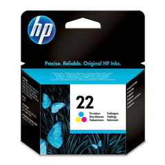 HP Cartucho de Tinta 22 Color (C9352AL)