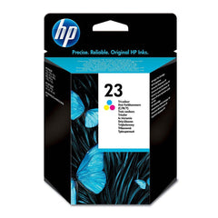 HP Cartucho de Tinta 23 Color (C1823D)