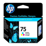 HP Cartucho de Tinta 75 Color (CB337WL)
