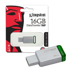 Kingston Memoria Flash USB 16 GB DT50/16GB 3.1