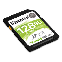 Kingston Tarjeta de Memoria 128GB SDXC Clase 10 (SDS/128GB)