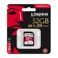Kingston Tarjeta de Memoria 32GB SDXC Clase10 (SDR/32GB)