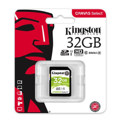 Kingston Tarjeta de Memoria 32GB SDXC Clase10 (SDS/32GB)