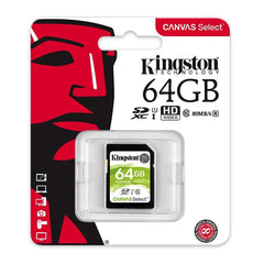 Kingston Tarjeta de Memoria 64GB SDXC Clase10 (SDS/64GB)