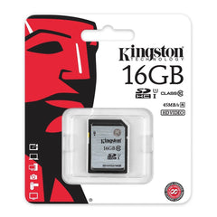 Kingston Tarjeta de Memoria Flash SDHC 16GB SD10VG2/16GB