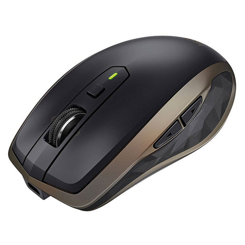Logitech Mouse Inalámbrico Bluetooth Anywhere 2, Negro