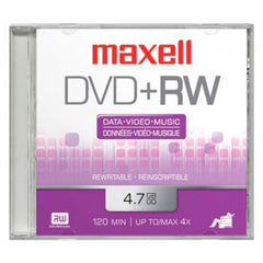 Maxell Disco DVD Regrabable DVD+RW 16X 4.7 GB, 634072