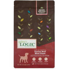 Natures Logic Alimento para Perro Canine Dry Beef (Res) 4.4LB (2KG)