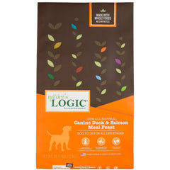 Natures Logic Alimento para Perro Canine Dry Duck & Salmon (Pato y Salmón) 26.4LB (12KG)