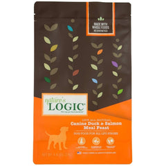Natures Logic Alimento para Perro Canine Dry Duck & Salmon (Pato y Salmón) 4.4LB (2 KG)