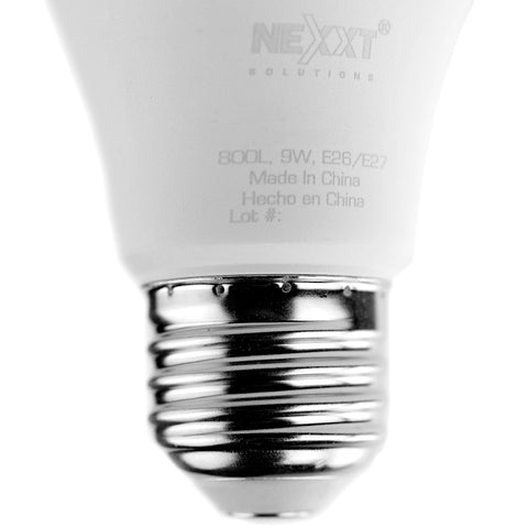 Nexxt Solutions Bombillo Inteligente Wi-Fi LED W110, Luz Blanca, Pack 4 Unidades