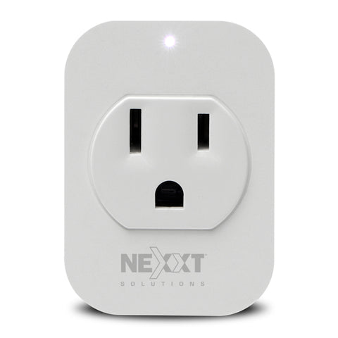 Nexxt Solutions Enchufe Inteligente Wi-Fi, Pack 2 Unidades