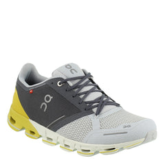 On Tenis Cloudflyer Grey/ Lime, para Hombre