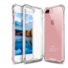 Pzoz Estuche Silicón Transparente Anti Golpe para iPhone 8 Plus
