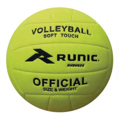 Runic Balón de Volleyball Soft Pebble Amarillo