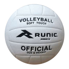 Runic Balón de Volleyball Soft Pebble Blanco