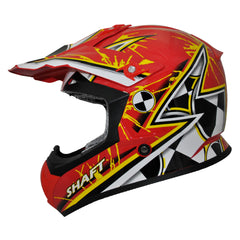 Shaft Casco Cross SH-MX05 Crash Amarillo/Rojo