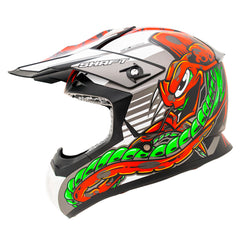 Shaft Casco Cross SH-MX05 Crawler Negro/Gris