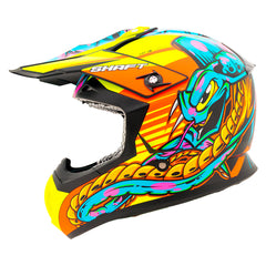 Shaft Casco Cross SH-MX05 Crawler Negro/Naranja