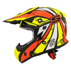 Shaft Casco Cross SH-MX05 Psyco Naranja/Amarillo