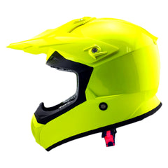 Shaft Casco Cross SH-MX05 Solid Amarillo Neón