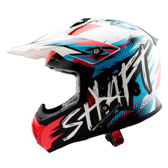 Shaft Casco Cross SH-MX05 Synergy Azul/Rojo