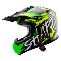 Shaft Casco Cross SH-MX05 Synergy Verde/Amarillo