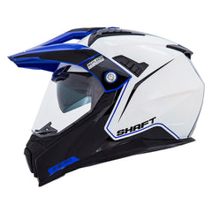 Shaft Casco Dual Sport SH-MX380 Troop Blanco/Azul