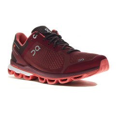 On Tenis Cloudsurfer Mulberry/Coral, para Mujer