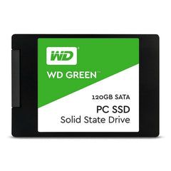 WD Disco Duro Interno Estado Sólido 120GB SSD Green (WDS120G2G0A)