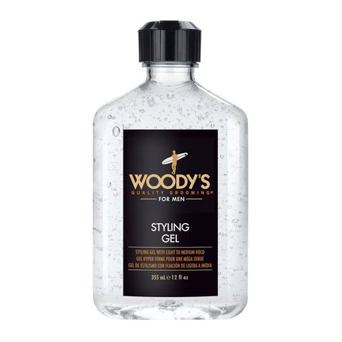 Woody's Gel Estilizante Fijación Ligera/Media 355ml