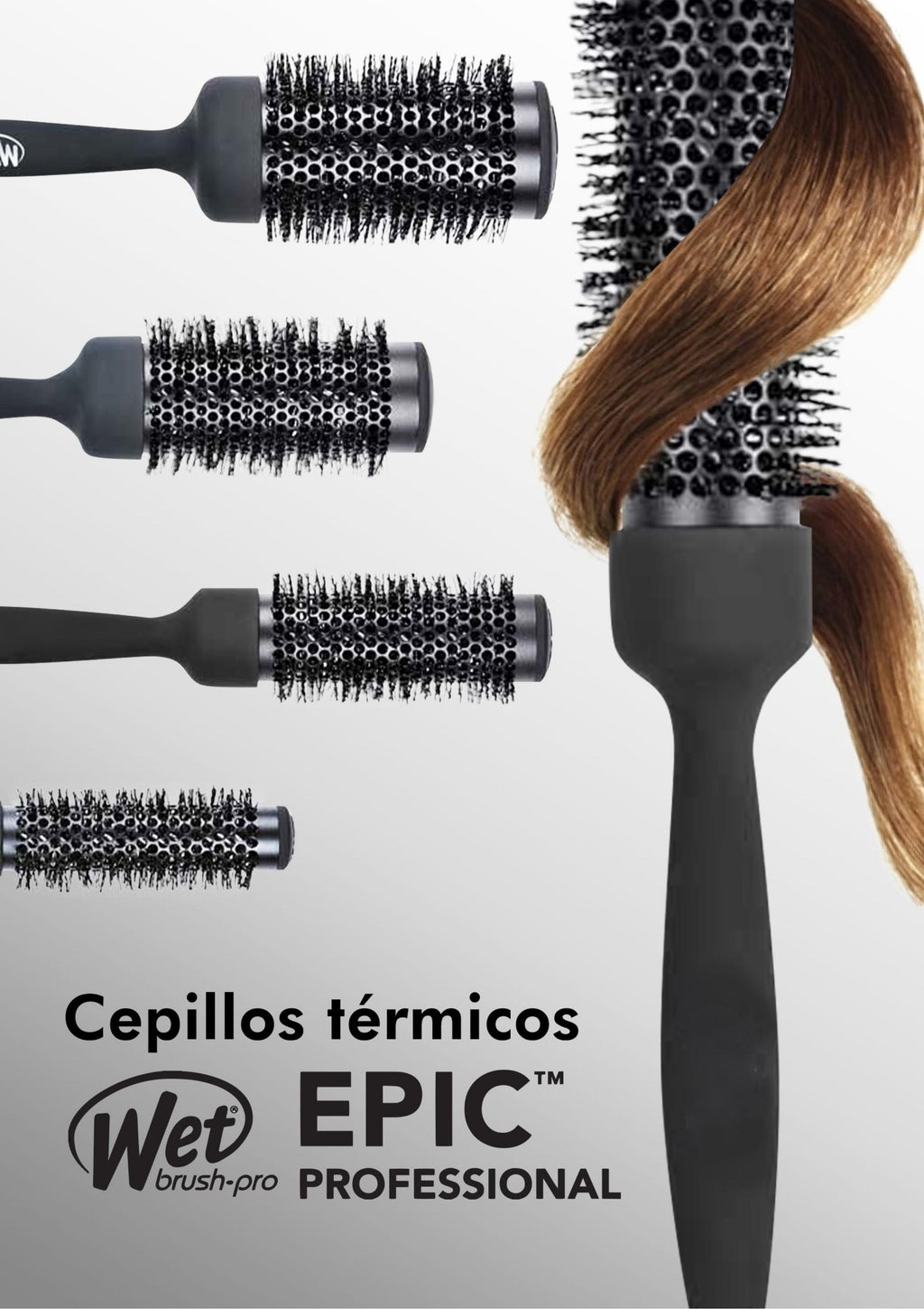 Cepillo Térmico Wet Epic Professional