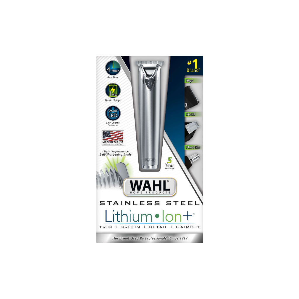 WAHL LITHIUM ION STAINLESS 9818